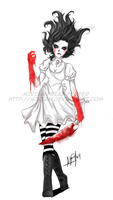 Alice Hysteria Commision by Mirian