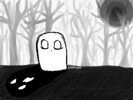Overcome your shadow  by AznFlesh