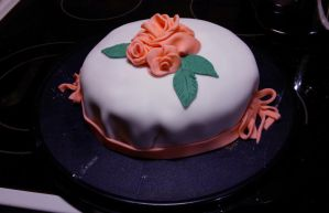 Cake for Mom and Dad by CosySister