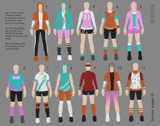 Costume design (paper doll) RTD09b by IRealTidyDesignI