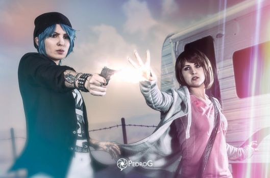 Chloe and Max - Life is Strange (2) by Trunks-Z