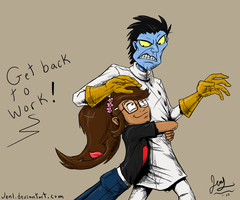 Got Something On Your Back by JenL