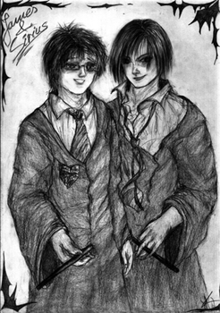 James and Sirius by pottering