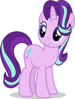 Mlp Fim Starlight Glimmer (happy) vector by luckreza8