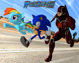 The Fastest Trio Alive by WOLFBLADE111
