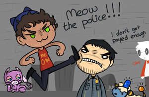 [PTS] Meow the police by sharkdicks
