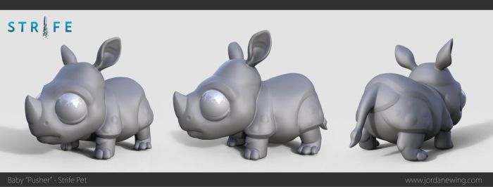 Baby 'Pusher' - Strife Pet - Sculpt by Dvolution