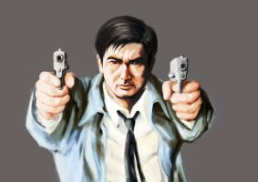 Chow Yun Fat by polidread