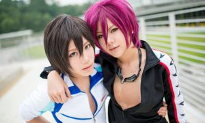 FREE! Haruka x Rin by Itchy-Hands