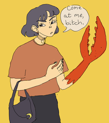 smells like roasted crab by smolcicada