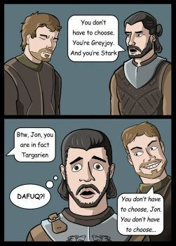 Game of Thrones - Foreshadowing by NoontimeOwl
