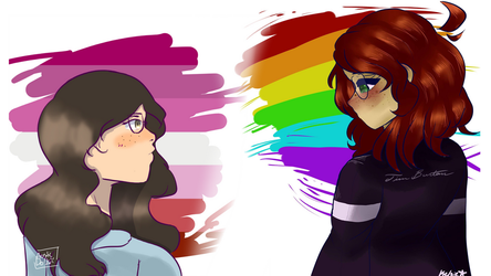 Thats gay- {COLLAB} by AcrylicDolls