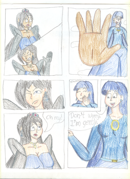 Miss Blue Leader's Giant Discovery - Page 10 by TrainsAndCartoons