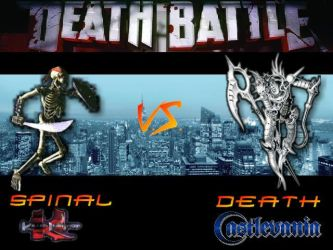 Death Battle: Spinal Vs Death by Stormtali
