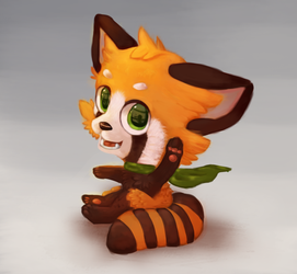NEW DA ACCOUNT / Red Panda by Nipini