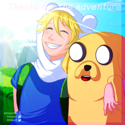 Adventure time finale by KimiaArt
