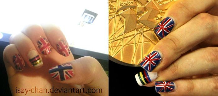Olympic Nails - Laura Trott by Iszy-chan