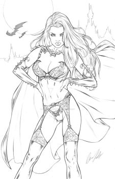 Lady Death Unholy Ruin 1 Lines