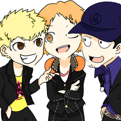 PERSONA Q  2 IS A BLESSING by Keriro