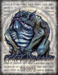 Tsathoggua by JeffRussell