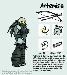 Secrets Of The Ooze: Artemisia by mooncalfe