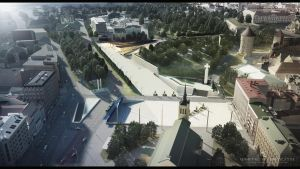 Freedom Square 01 3D VISUALIZATION by gravier25