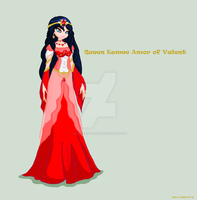 New Queen Esmme ( Rosilin)  Amore by Loveyraspberry
