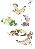 Hellbender Banana breed For Yami-no-tempest:CLOSED by Jesseth
