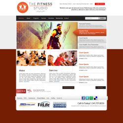 The fitness studio by TheArtofDesigning