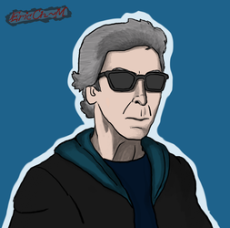 Twelfth Doctor with shades by Ertrandmue