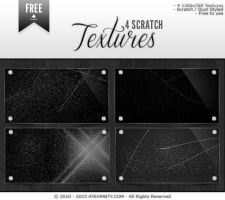 Scratch Textures - 1 by OftheCrucified