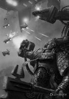 Wrath of Omnissiah by ARTOFJUSTAMAN