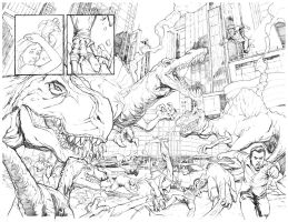 Dinoaurs in NY by DRPR