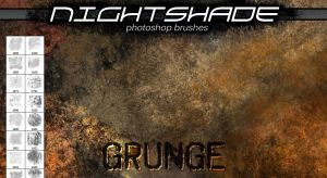 Nightshade grunge brushes by Niteshader