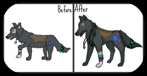 Before and after 2009/2012 by Azzuris00