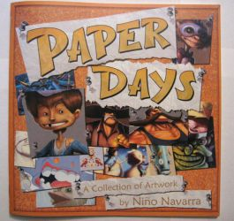 Paper Days Art book Cover by NNavarra