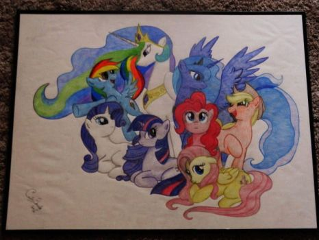 My Little Pony - Traditional Main Cast by DordtChild