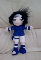 Sasuke Plush Commission by AshFantastic