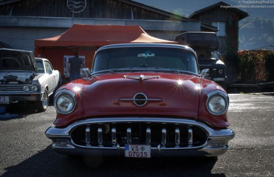 50's Buick Hot Rod III by TheGeekAndTheEOS