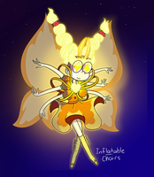 Star's Golden Butterfly form by Inflatablechairs