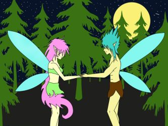 Fairies Love by temporal-mort