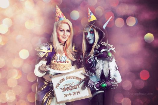 Happy anniversary WoW by ver1sa