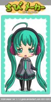 Hatsune Miku by Yandere-ChanKawaii13