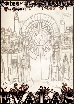 Evalas - Gates of Lasentia by Fanglicious