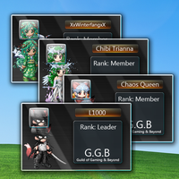 Mock ID Cards for Gaia Online by hiromoshi