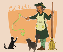 Cat Witch by Thea0605