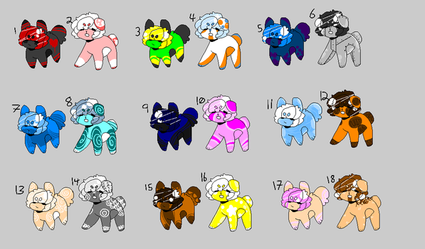 Adopt Batch! (OPEN) (PRICE LOWERED AGAIN) by MrCitris
