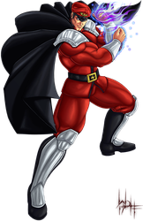 M.Bison SF Alpha by SirWolfgang