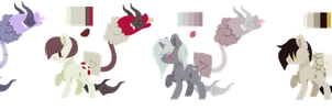 [OPEN] Space Cotton Mouth Adopts by aquaticAssassin