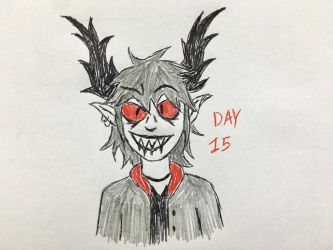 Inktober Day 15 by Revenir-Ghoul